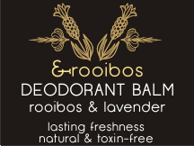 Deodorant balm: rooibos and lavender